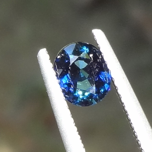 Un-Treated 0.955 Ct Blue Sapphire from Tanzania