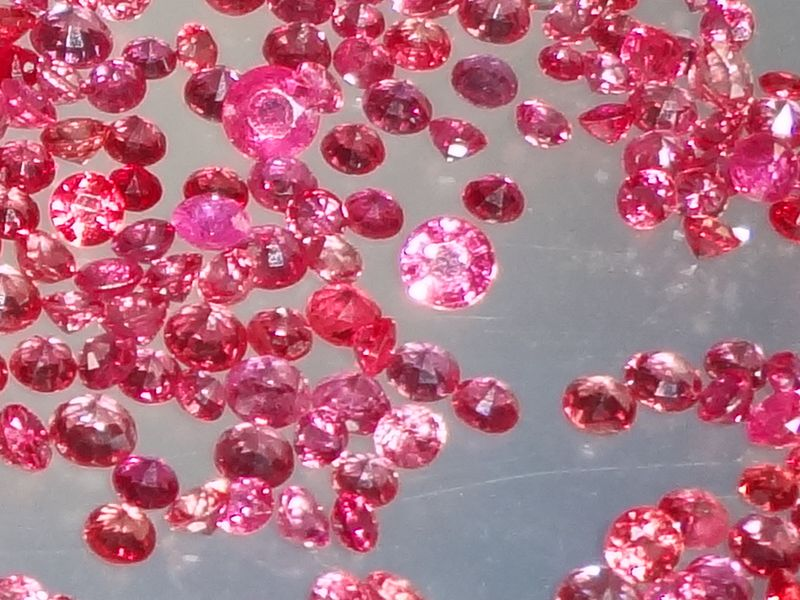 Red Ruby from Pailin by the carat, heated.