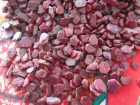 Affordable lot of Natural Red and Pink Ruby crystals and flakes from Mozambique