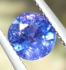 Un-Treated 1.935 Ct Multii-Chrome Sapphire from Tanzania
