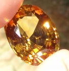26.77 Golden Citrine-Quartz from Congo