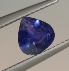 Un-Treated 1.22 Ct Multii-Chrome Sapphire from Tanzania