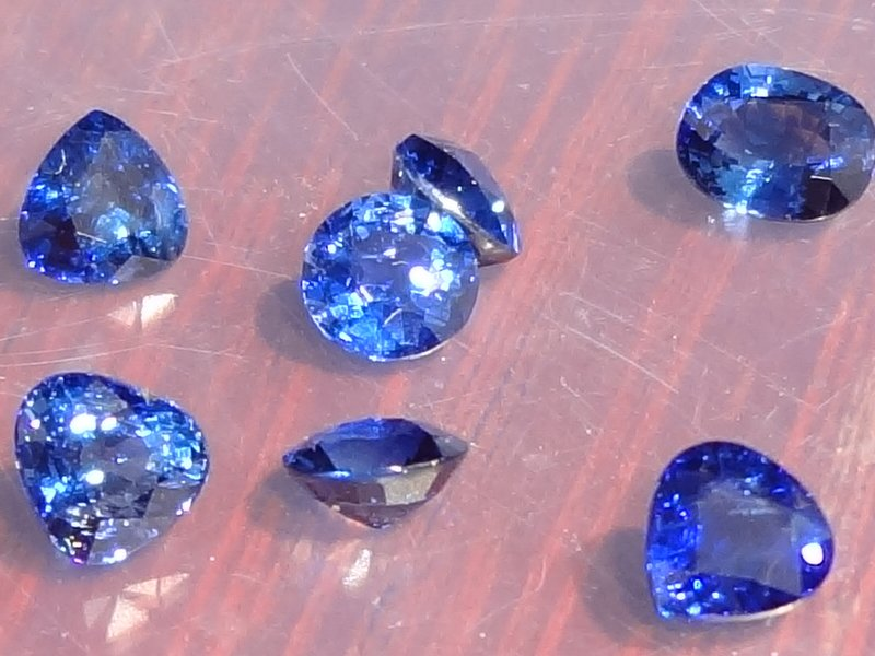 1 Carat Blue Sapphire from Pailin
