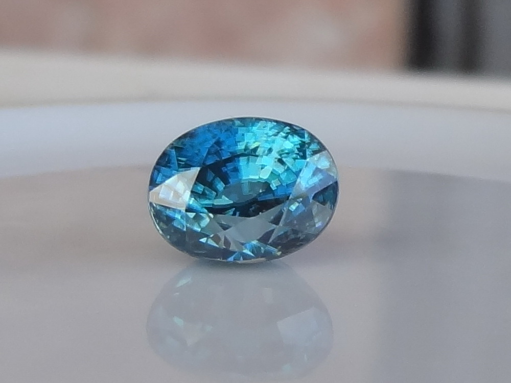 Beautiful and elegant natural blue Zircon