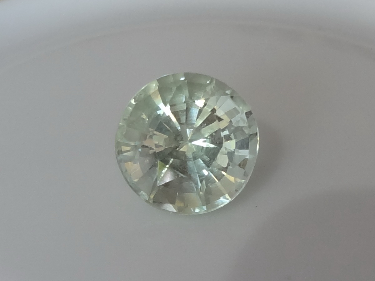 Quartz 6 66ct Green Amethyst Vermarine Or Prasiolite