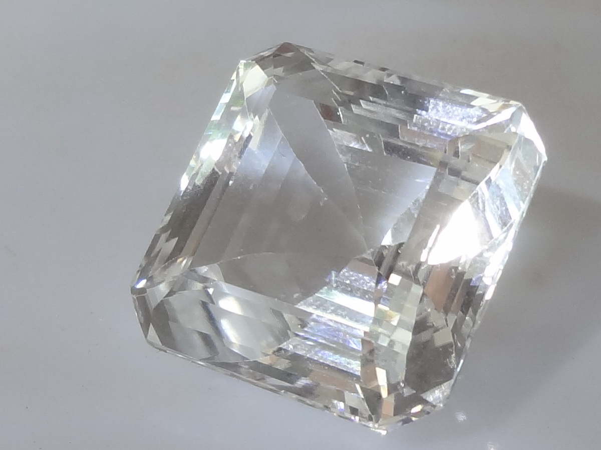 Large White Topaz For Sale