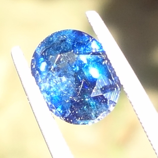 Un-Treated 2.48 Ct Blue Sapphire from Tanzania