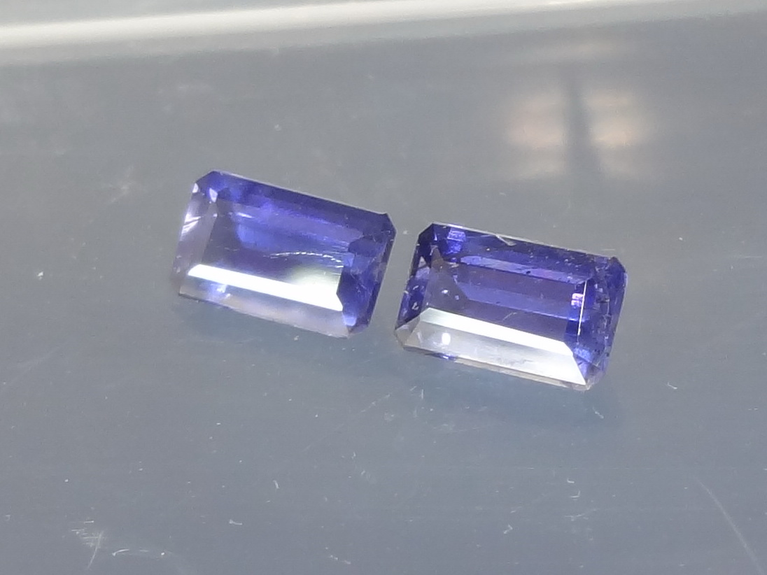 african gemstone oval detail main pair gemstones iolite with index origin affordable purple emerald cut gems violet