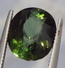 Buy oval shape deep green Tourmaline online.