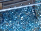 Buy calibrated diamond cut blue Zircon, wholesale supplier