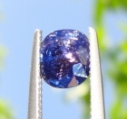 Un-Treated 2.23 Ct Blue Multichrome Sapphire from Tanzania