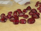 Tanzania Torch Red / Amaranth Rhodolite Garnet with Malawi Colours