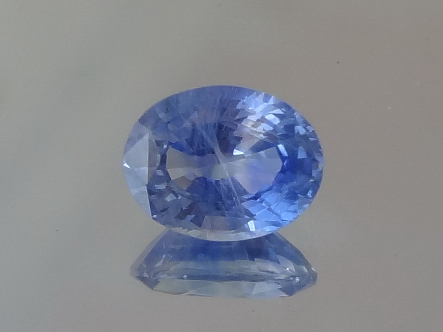 Sky Blue Unheated Ceylon Sapphire from Sri Lanka